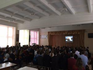 Реализация проекта «Интерактивный урок «Наркотики. Секреты манипуляции» в городе Серпухов Московской области