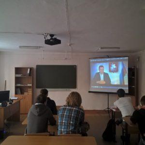 Общее дело в Новокузнецком техникуме пищевой промышленности Кемеровской области