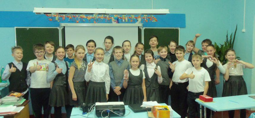 Общее дело в школах №1 и №4 города Великий Устюг Вологодской области