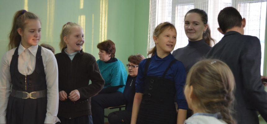 Общее дело в Григорковской школе Красносельского района Костромской области