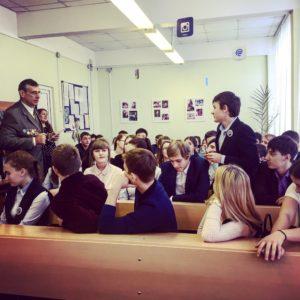 бщее дело в школах №1 и №2 города Голицыно Московской области