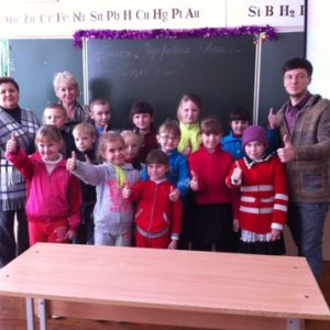 Общее дело в Кутейниковской СОШ Ростовской области