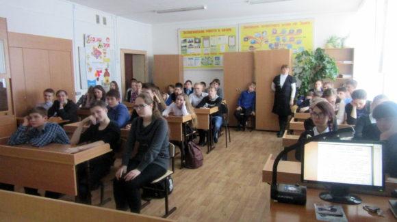 Общее дело в школе села Глухово Воскресенского района Нижегородской области