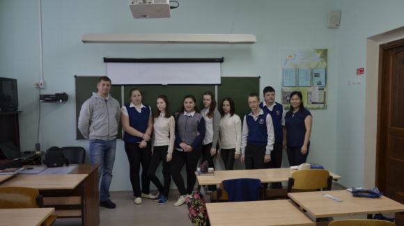 Общее дело в санаторной школе №1 города Железногорска Красноярского края