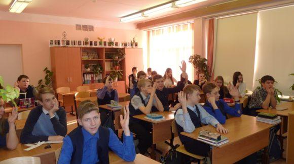 Общее дело в школе №102 города Железногорска Красноярского края