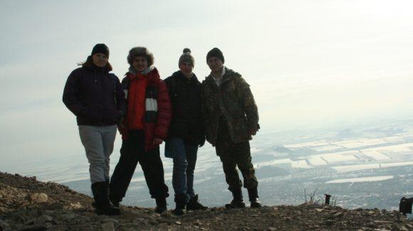 Волонтеры Общего дела 1 января совершили восхождение на гору Бештау