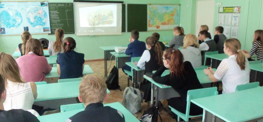 Общее дело в школе №1 Великого Устюга Вологодской области