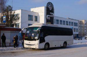 Общественный транспорт с социальной рекламой в городе Усть-Катаве!