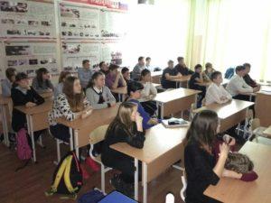 Общее дело в школе №14 города Нягань