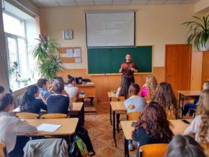 Общее дело в школе №18 города Донецка
