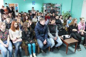 Общее дело на встрече с учащимися города Донецка