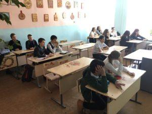 Общее дело в школе №14 города Нягань ХМАО