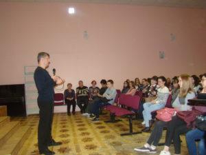 Общее дело в Педагогическом колледже № 10 г. Москвы