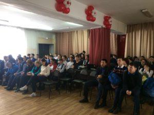 Общее дело в школе №4 города Кызыл