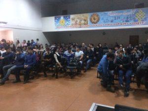 Общее дело в Тувинском строительном техникуме