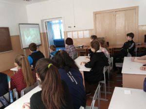 Общее дело в Средней школе с. Александровка Мелекесского района Ульяновской области
