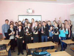 Общее дело в школе №15 города Красавино Вологодской области