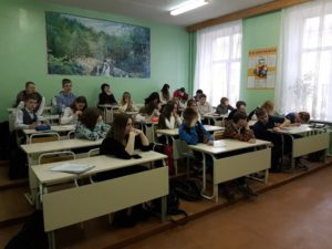Общее дело в школе №6 города Череповца