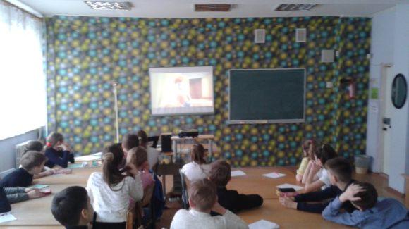 Реализация проектов ОО «Общее дело» в гимназии № 52 города Луганска