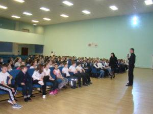 Общее дело в школе №27 города Люберцы Московской области
