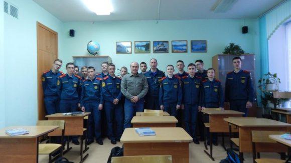 Общее дело в Кадетском корпусе г. Железногорска