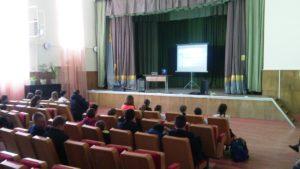Общее дело на встрече с учащимися села Тарутино Калужской области