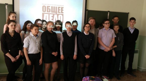 Общее дело в школе р.п. Новая Майна Ульяновской области
