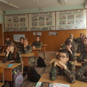 Общее дело в Кадетской школе города Волжский Волгоградской области