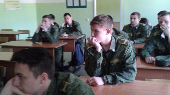 Общее дело в Воронежской кадетской школе им. А.В. Суворова