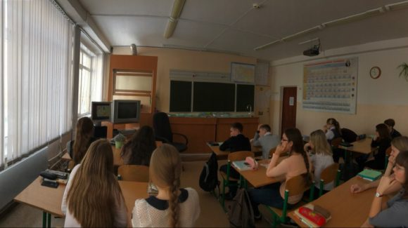 Общее дело в школе №8 города Топки Кемеровской области