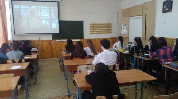 Реализация проекта «Здоровая Россия — Общее дело» в Амзинской средней школе республики Башкортостан