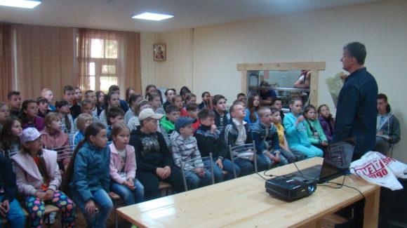 Общее дело в лагере отдыха «Маяк» Саратовской области