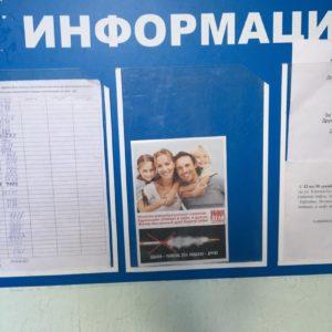 Наши стикеры в подъездах города Коврова Владимирской области