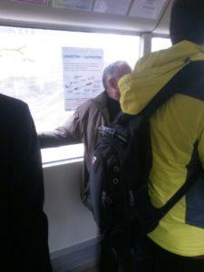 Плакаты общее дело размещены в маршрутных транспортных средствах города Кольчугино Владимирской области