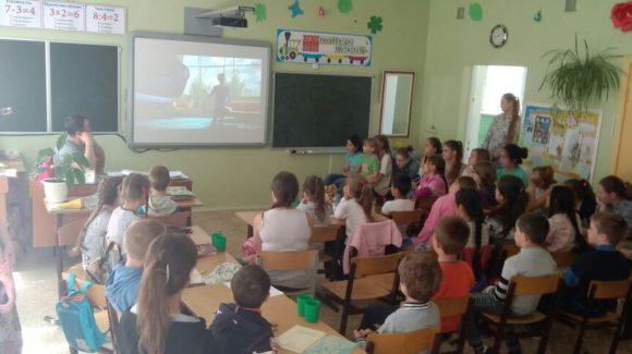Общее дело на встрече с детьми с. Восход Жуковского района Калужской области