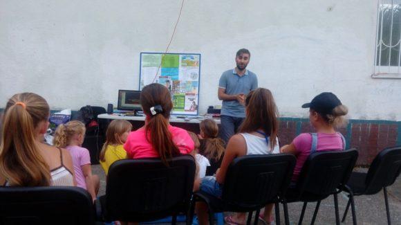 Общее дело на встрече с детьми в селе Измайловка Краснодарского края