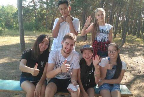 Реализация проекта «Здоровая Россия – Общее дело» в детских лагерях Якутии