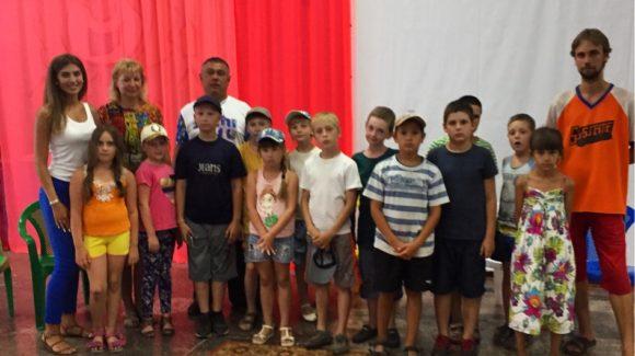 Общее дело в лагере отдыха «Дружба» Саратовской области