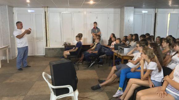 Общее дело в детском лагере «Дубки» города Саратова