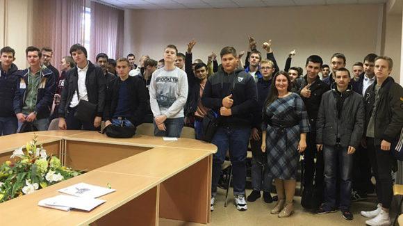 Общее дело в Новосибирском строительно-монтажном колледже