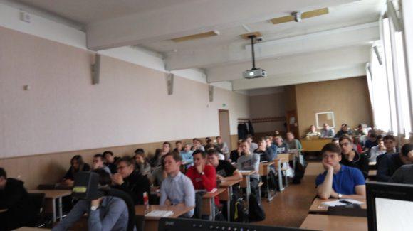 В «День Трезвости» прошла первая в этом учебном году лекция в УрФУ для студентов первого курса