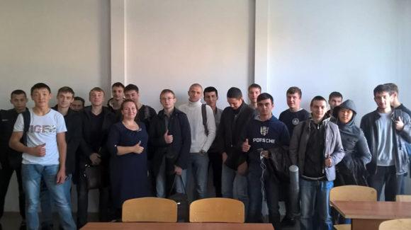 Общее дело с курсом занятий в Новосибирском строительно-монтажном колледже.