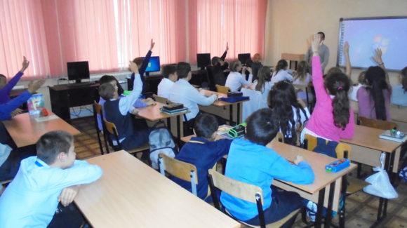 Общее дело в школе №138 города Новосибирска