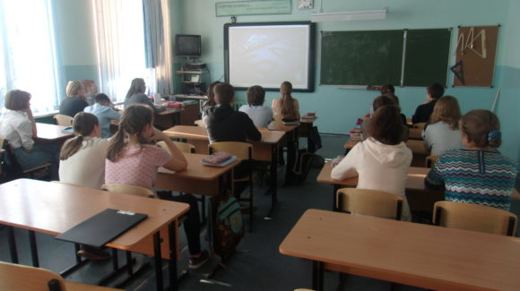 Общее дело в школе №33 города Петрозаводска республики Карелия