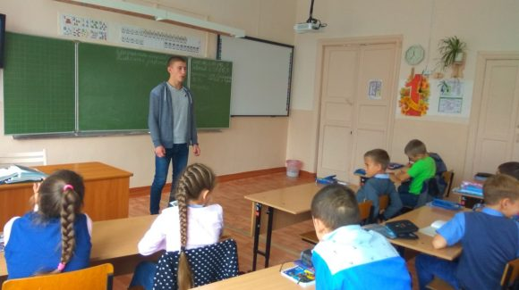 Общее дело в школе №5 поселка Яшкино Кемеровской области