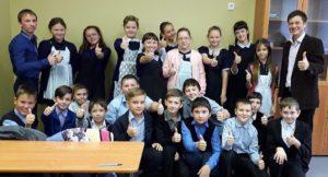 Общее дело в Милютинской школе №115 Ростовской области