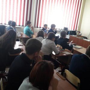 Общее дело в гимназии города Нягань, ХМАО-Югра