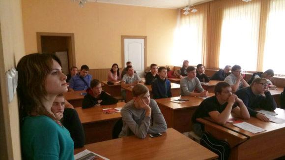 Общее дело в Новосибирском Электромеханическом колледже