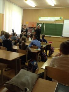 Общее дело в школе №77 города Саратова