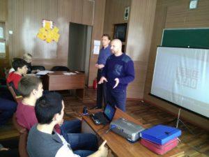 Общее дело в Донецком экономико-правовом кооперативном техникуме